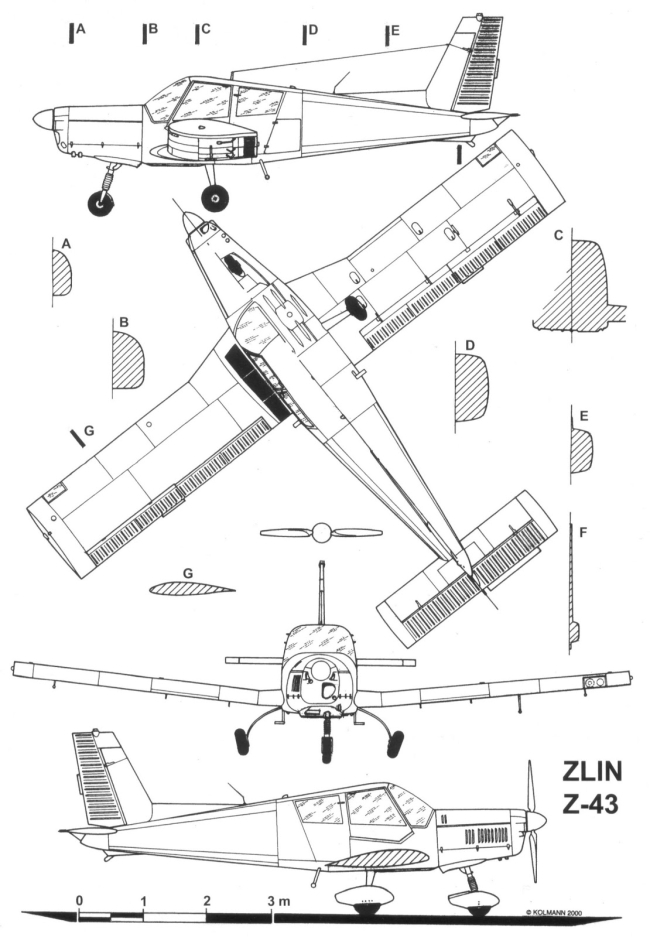 Pleasing Zlin Z 43 Scale Aviation Rc Models And Aircraft Wiring Digital Resources Remcakbiperorg